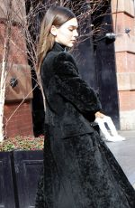 Kendall Jenner Exit her hotel in NYC