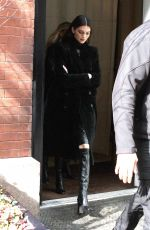 Kendall Jenner Leaving her hotel in NYC
