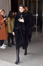 Kendall Jenner Leaving the Longchamp fashion show 2020 in New York