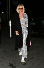 Khloe Kardashian Arrives for dinner at Mastro