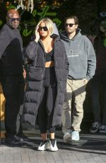 Khloe Kardashian Grabs coffee with Scott Disick in Woodland Hills