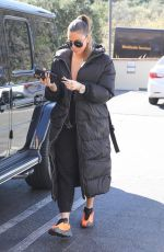 Khloe Kardashian Seen out & about in Calabasas