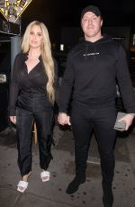Kim Zolciak and daughter Brielle Biermann are spotted arriving and leaving a family dinner at the Nice Guy in Los Angeles