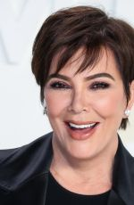 Kris Jenner Attends the Tom Ford Autumn/Winter 2020 fashion show in Hollywood