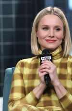 Kristen Bell Attending Build Series to discuss her product line Hello Bello in NYC