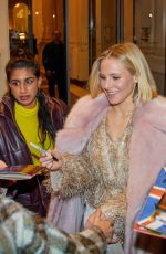 Kristen Bell Leaves Hotel Kempinski in Wien