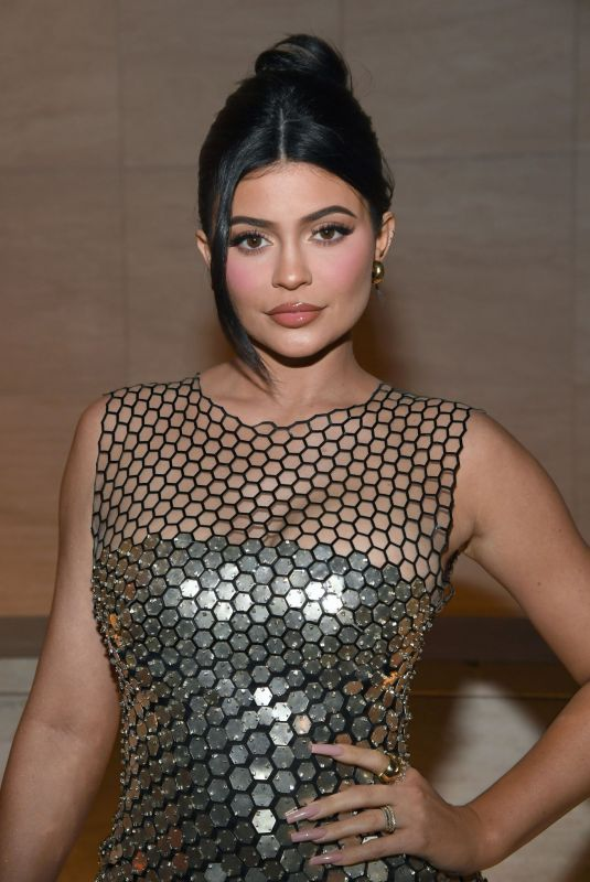 Kylie Jenner At Tom Ford Fashion Show