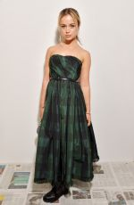 Lady Amelia Windsor At Dior show, Front Row, Fall Winter 2020, Paris Fashion Week, France