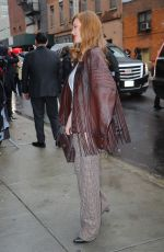 Larsen Thompson At Coach show at New York Fashion Week
