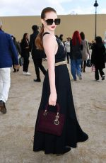 Larsen Thompson At Dior Show at Paris Fashion Week