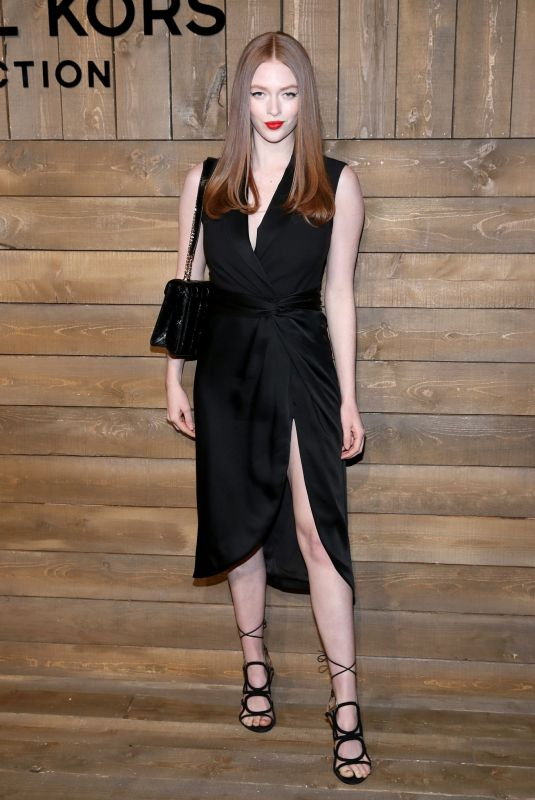Larsen Thompson At Michael Kors Fashion Show in New York