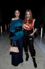 Larsen Thompson At Palm Angels Fashion Show in New York