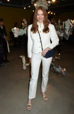 Larsen Thompson At Tory Burch show, Front Row, Fall Winter 2020, New York Fashion Week