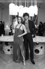 Larsen Thompson Attends Baccarat Crystal Clear Paris Event