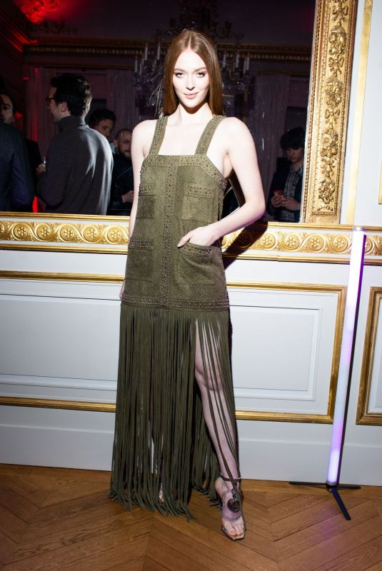 Larsen Thompson Attends the Boucheron Party as part of the Paris Fashion Week Womenswear Fall/Winter 2020/2021