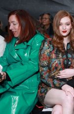 Larsen Thompson Attends the Naeem Khan fashion show during New York Fashion Week in NYC