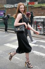 Larsen Thompson Leaving the Michael Kors Fashion Show in NYC