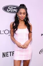 Laura Harrier At 13th Annual ESSENCE Black Women in Hollywood Luncheon in Beverly Hills