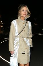 Laura Whitmore Leaving the Love Island Aftersun filming in London
