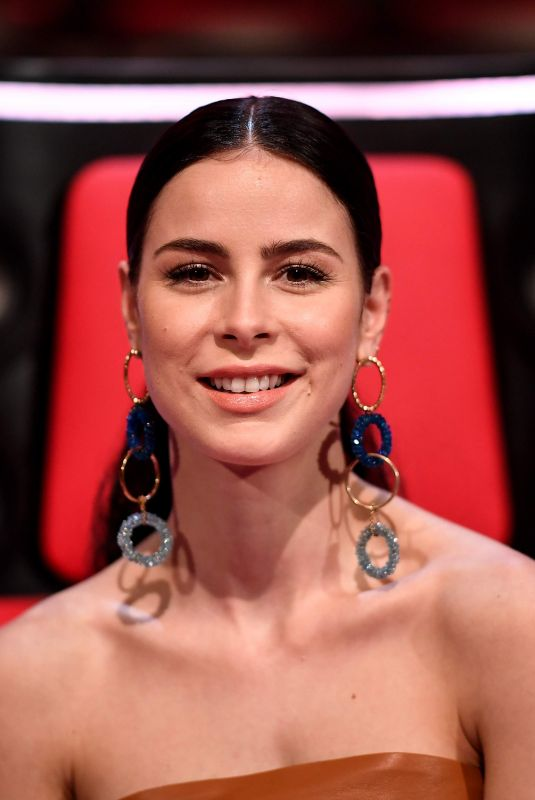 Lena Meyer-Landrut At The Voice in Berlin