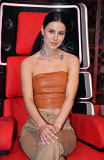 Lena Meyer-Landrut At The Voice Kids Photocall in Berlin