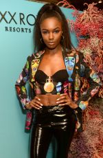 Leomie Anderson At Natalia Vodianova x Maxx Resorts party, Scott