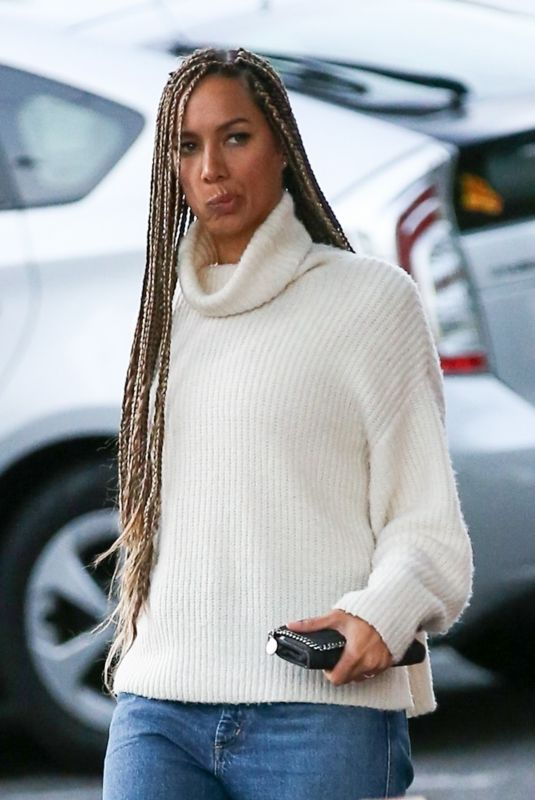 Leona Lewis Looks stylish out in West Hollywood