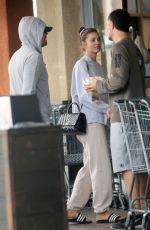 Leonardo DiCaprio and Camila Morrone step out for some grocery shopping in Los Angeles
