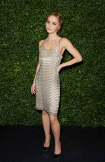 Lily-Rose Depp At Charles Finch & Chanel Pre-BAFTA Party in London