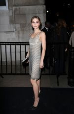 Lily-Rose Depp At the Charles Finch & CHANEL Pre-BAFTA Party in London