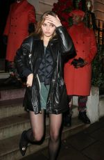 Lily-Rose Depp Late Night Partying at Annabel