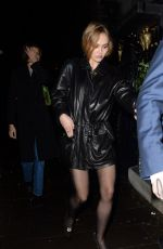 Lily-Rose Depp Leaving Annabel