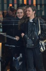 Lily-Rose Depp Out in Teaneck