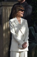 Lisa Rinna Steps out in sultry white