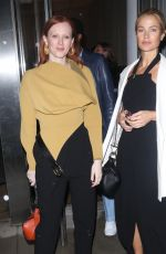 Liya Kebede, Carolyn Murphy and Karen Elson attend the Proenza Schouler show for New York Fashion Week in New York