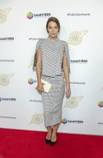 Liz Godwin At 57th Annual ICG Publicists Awards Luncheon, Arrivals, Beverly Hilton Hotel, Los Angeles