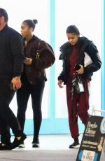 "Lori Harvey Enjoys a night out with a friend as they enjoy a sushi dinner at Matsuhisa then head to ""Cookies"" Marijuana Dispensary"