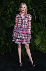 Lucy Boynton At Charles Finch and Chanel Pre-Oscar Awards Dinner in LA