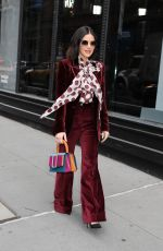 Lucy Hale Arrives at Build Studio in New York City
