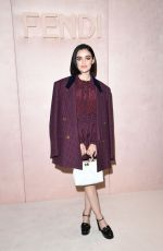 Lucy Hale At Fendi fashion show in Milan