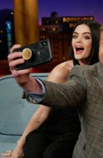 """Lucy Hale At James Corden's """"Late Late Show"""" in Los Angeles"""