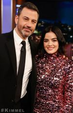 Lucy Hale At Jimmy Kimmel Live! in Los Angeles