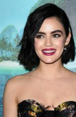 """Lucy Hale Attends Premiere of """"Blumhouse"""