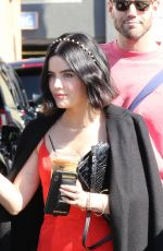Lucy Hale Out after a photoshoot in LA