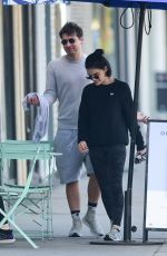 Lucy Hale Out after a workout in Los Angeles