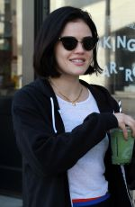 Lucy Hale Out after her workout in LA