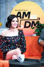 Lucy Hale Visits Buzzfeed