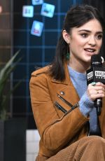 Luna Blaise Visits the Build Series in New York City