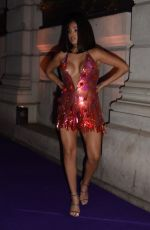 Mabel McVey Arriving at the 40th Brit Awards, Universal Music After Party in London