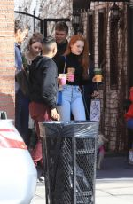 Madelaine Petsch At Alfred Coffee in LA